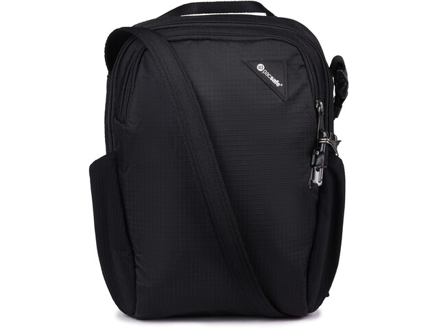 Pacsafe Vibe 200 Crossbody Bag jet black